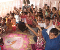 Educational Support to Slum Children