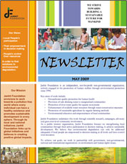 Newsletter May 2009