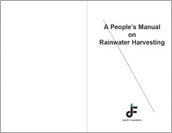 A People's Manual on Rainwater Harvesting